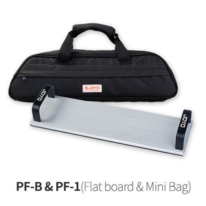 PF-B & PF-1 Flat board & Mini Bag